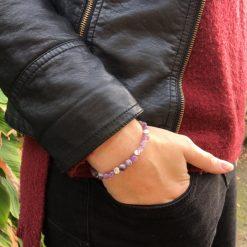 Bracelet en perle Améthyste - Kuban