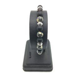 Bracelet en perle Jaspe Noir